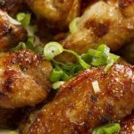 Sticky Honey and Soy Chicken Wings