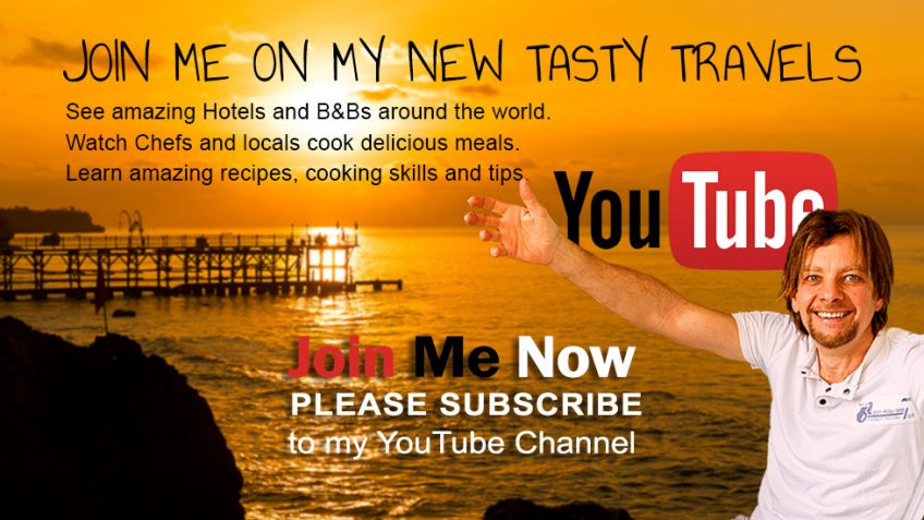 Chef Joel Mielle's Tasty Travel Vlogs