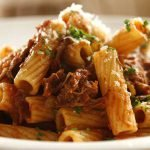 pasta with beef ragu italian recipe