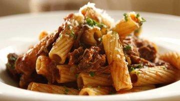 pasta with beef ragu italian recipe