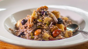 Blueberry oats super healthy breakfast