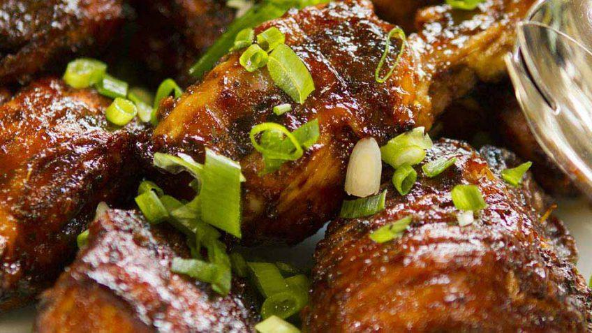 BBQ chicken with glaze recipe