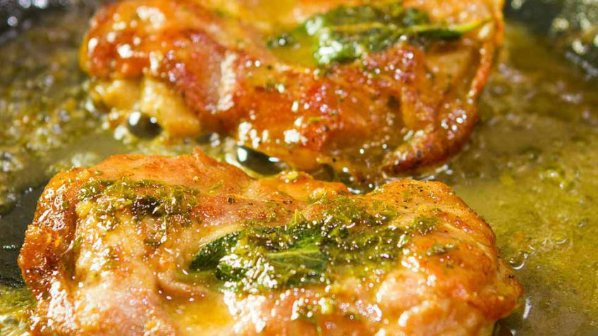 The best chicken Saltimboca recipe