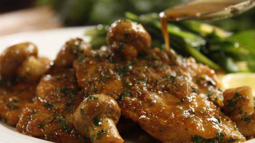Chicken Marsala recipe with mushrooms