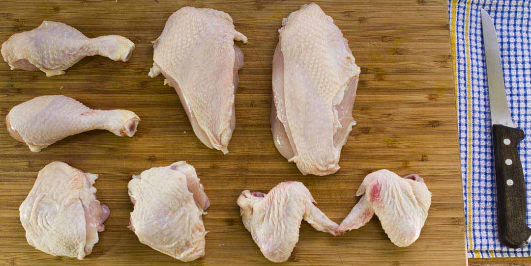 how to break down a chicken and save money