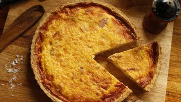 The famous authentic quiche Lorraine recipe