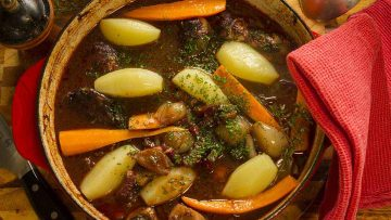 coq au vin chicken in red wine recipe