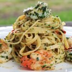 Garlic Prawn Linguine