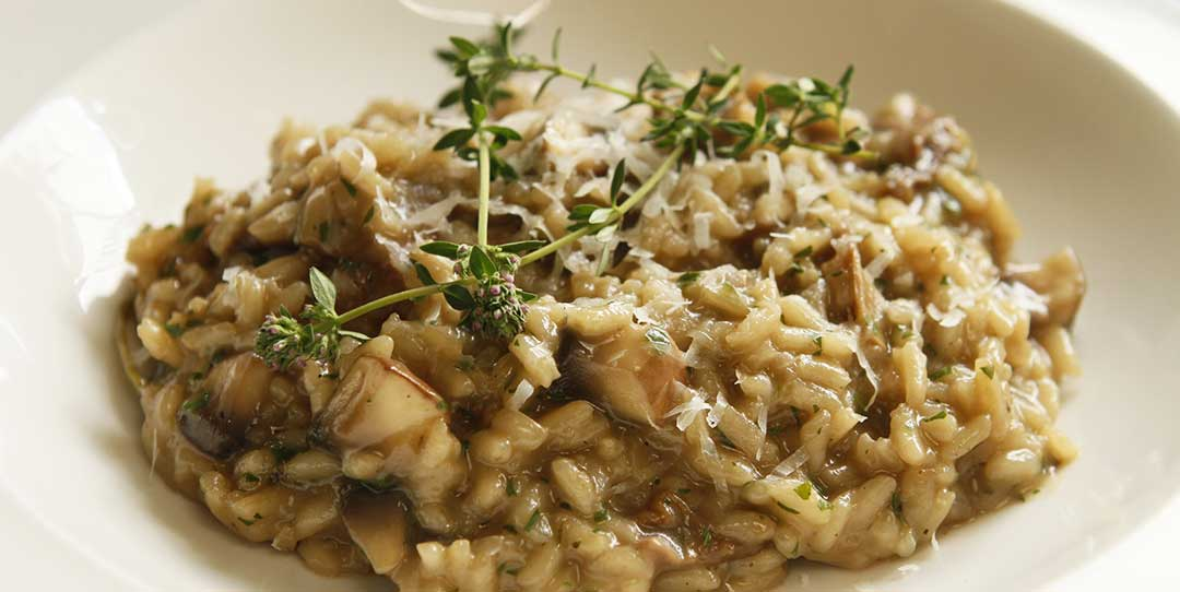 Perfect mushroom risotto recipe