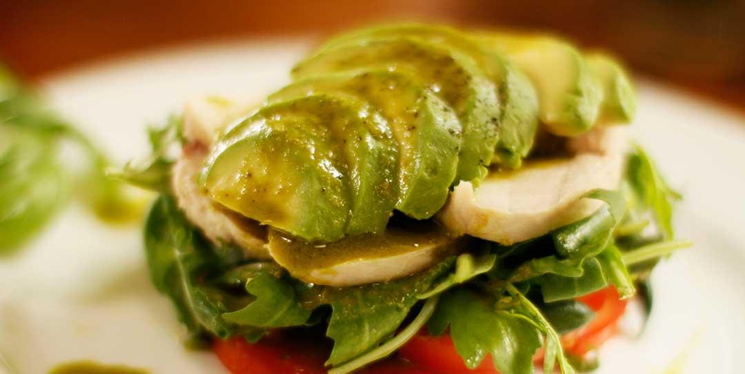 Chicken Avocado Mixed Salad