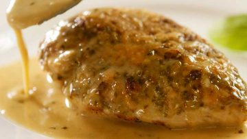 Creamy Parmesan Pesto Chicken