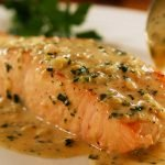 Perfect Pan Seared Salmon with lemon butter Cream Sauce