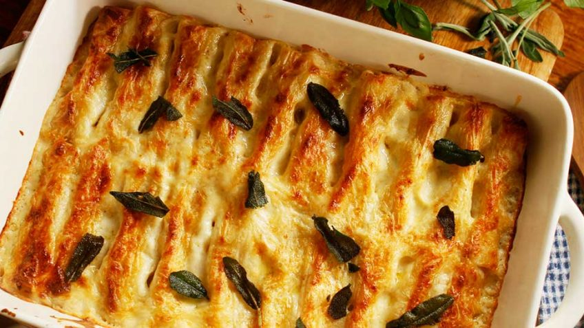 Chicken Cannelloni Recipe