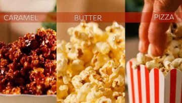 How to cook popcorn three different ways