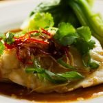 Steamed Asian Style Fish