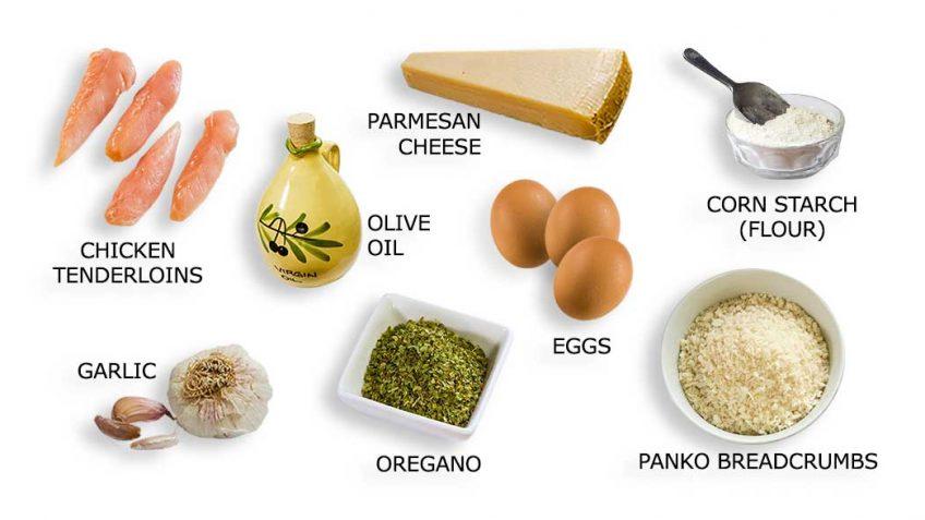 Super Crunch Chicken Tenderloins Ingredients