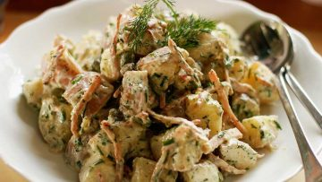 No Mayo Summer Potato Salad