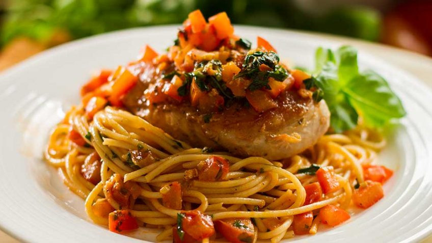 Garlic Basil Chicken recipe