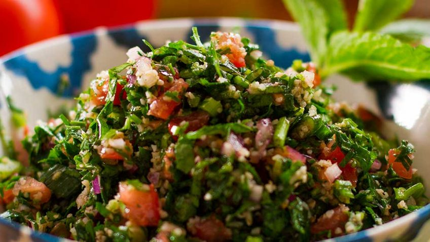 a Super Healthy Lebanese Salad