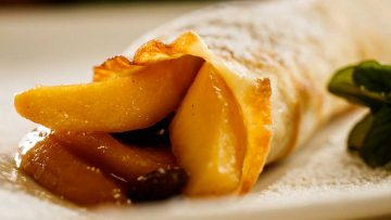 Apple crepe Normande recipe