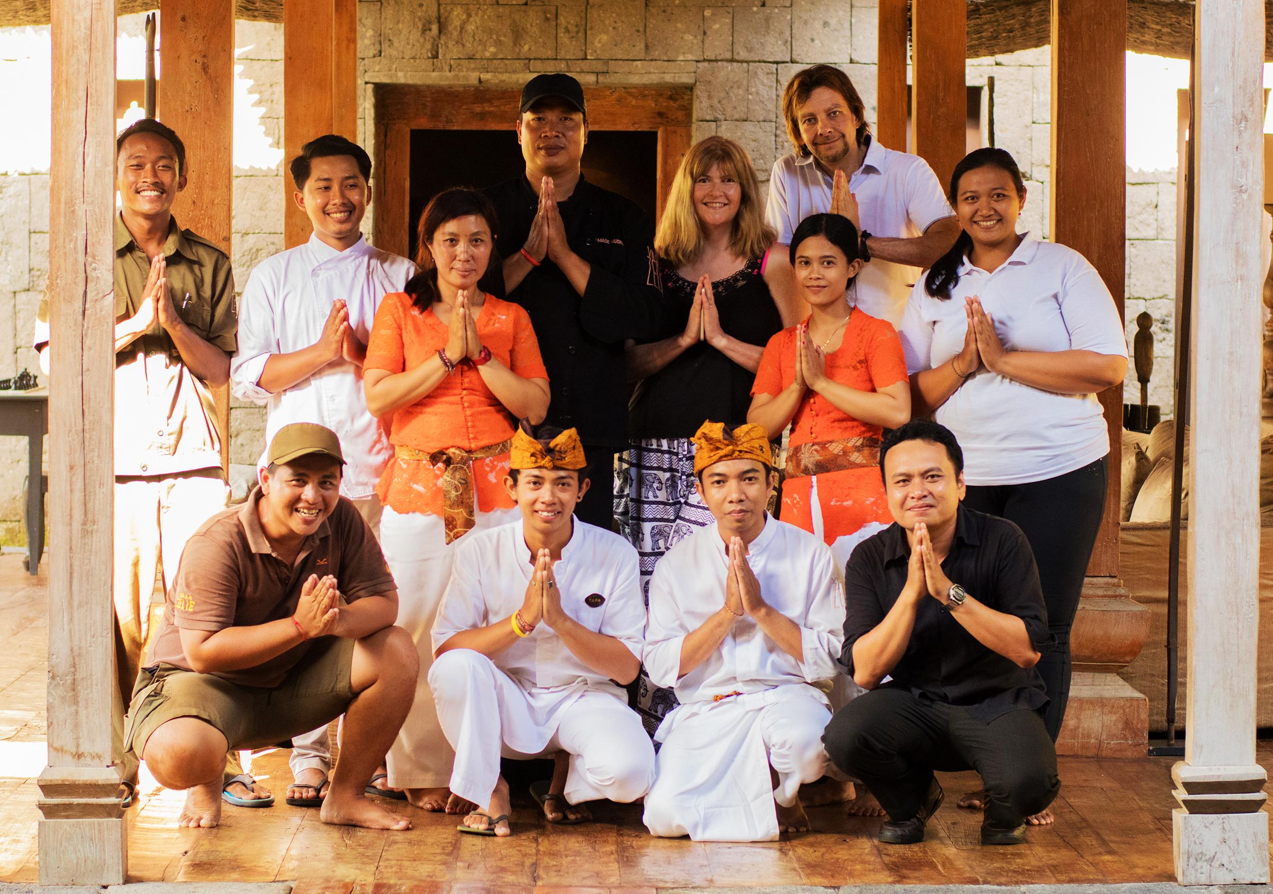 Villa Zelie Staff