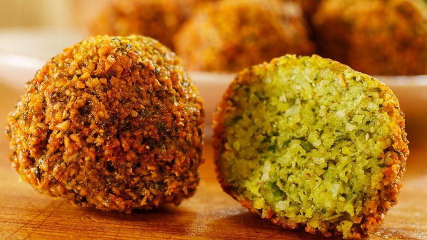 Gluten free and vegan falafel recipe