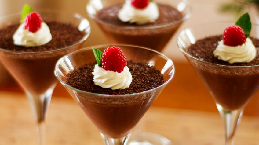 French Fluffy Chocolate Mousse Recipe, so decadent