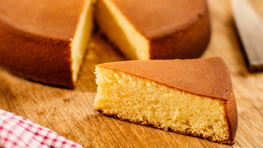 Classic Sponge Cake or Genoise the basic recipe
