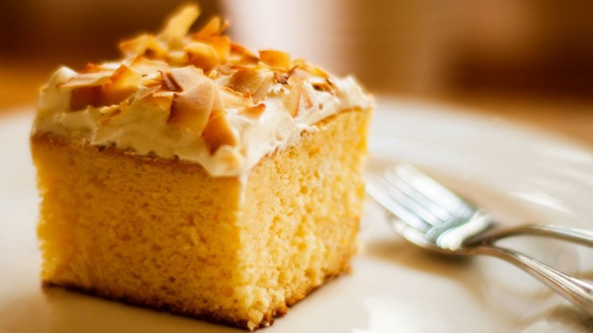 Cake Cooked In Vanilla Sauce Recipe