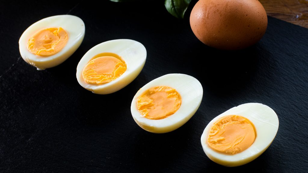 Easy peel eggs hard boiled