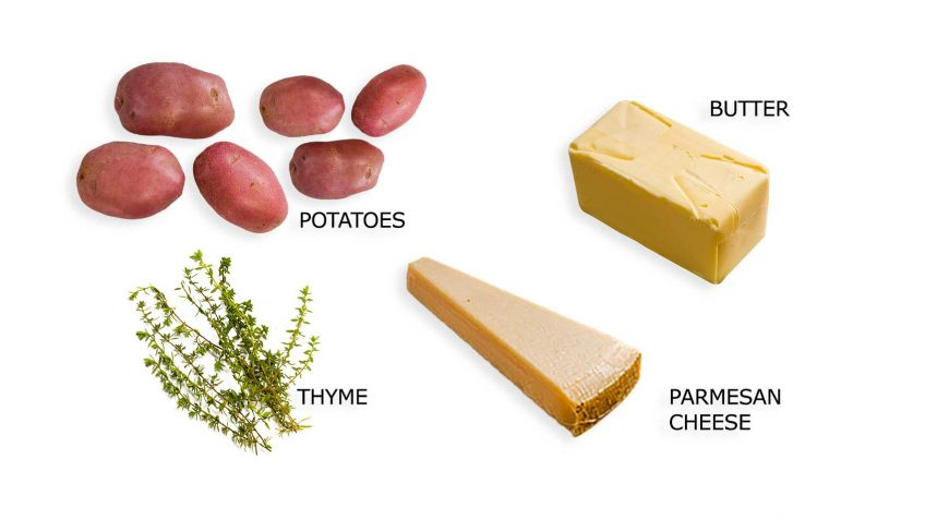 Pommes Anna ingredients