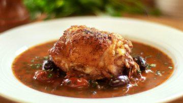 Mediterranean chicken thighs