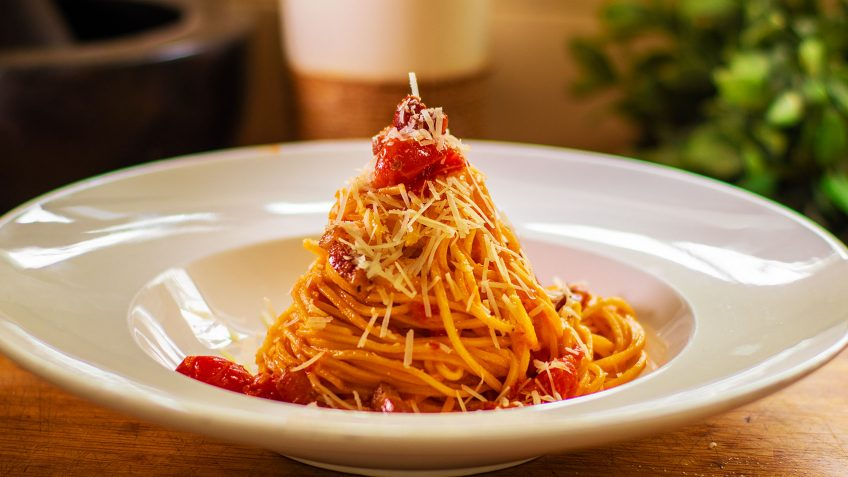 Spaghetti all' Amatriciana