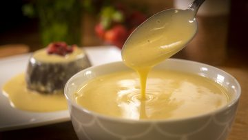 creamy vanilla custard recipe