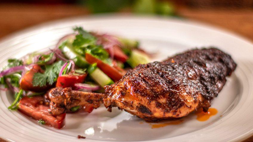 Smoky Tandoori Style Chicken