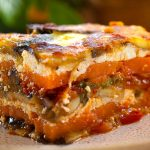 Vegetarian gluten free lasagna