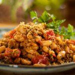 Mediterranean Baked Beans.