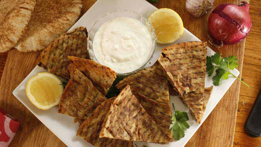 Lamb Arayes recipe - Pita Bread Filled With Meat