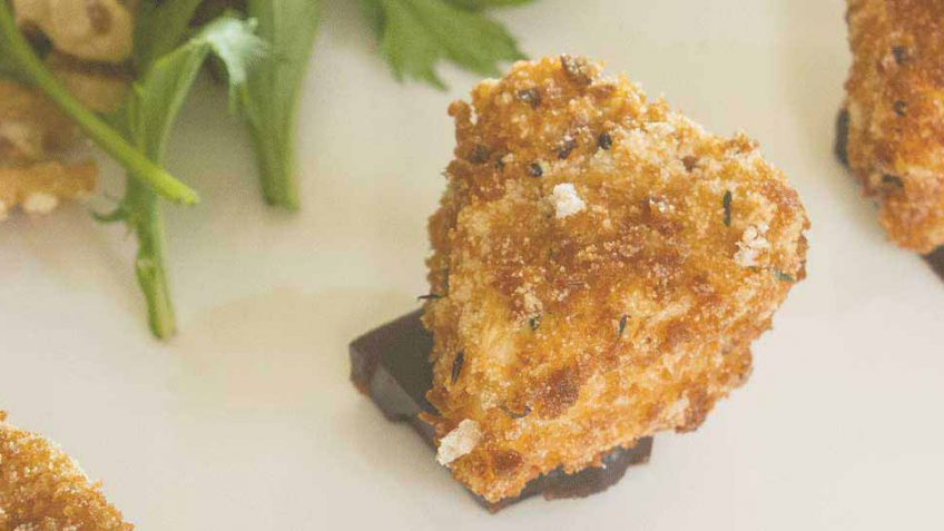 Simple fried Camembert cheese recipe