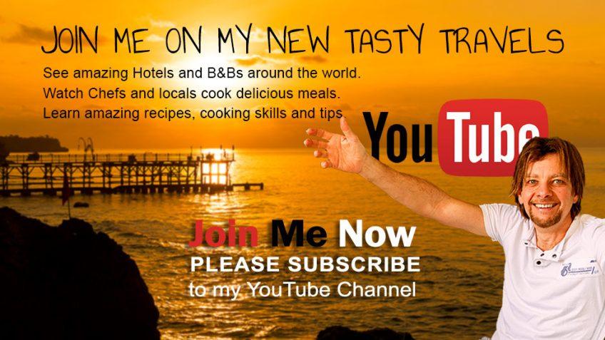 Chef Joel Mielle's Tasty Travel Vlogs