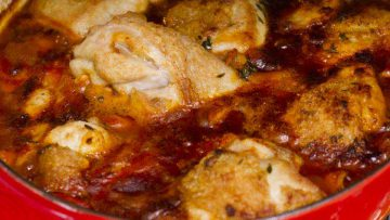 Famous chicken Cacciatore recipe