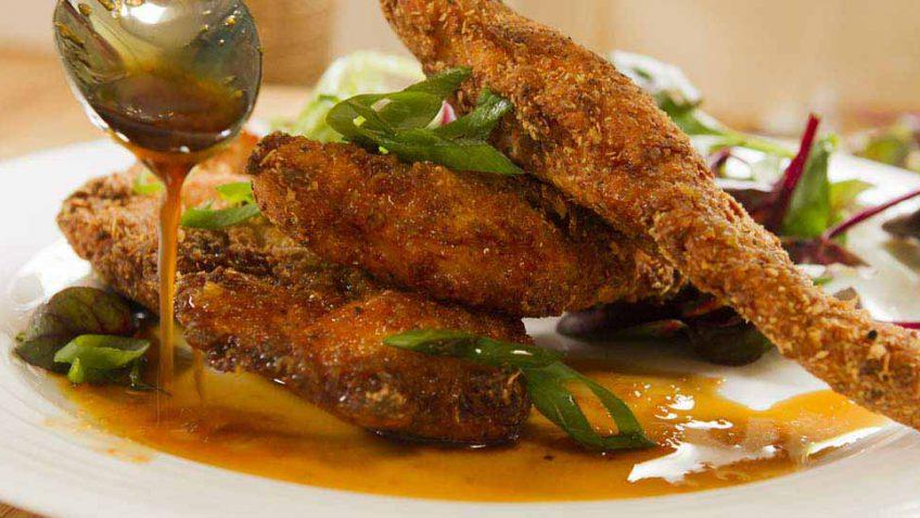 Fried chicken breast better than KFC