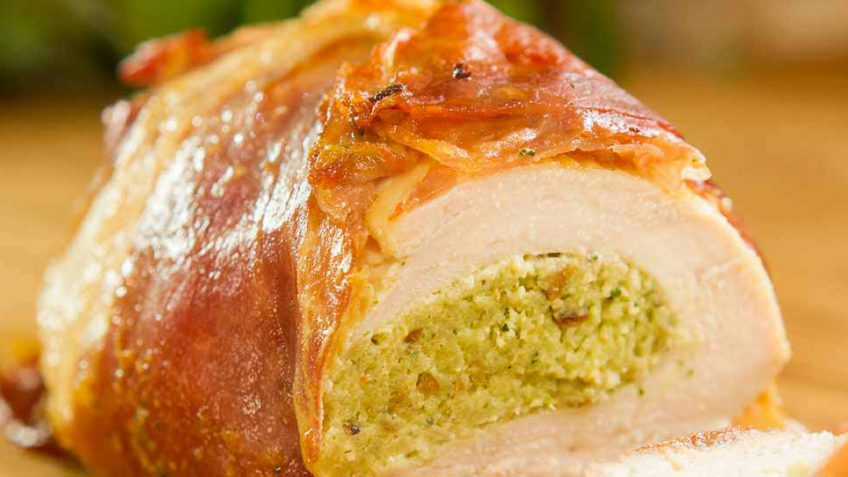 chicken breast with pesto recipe