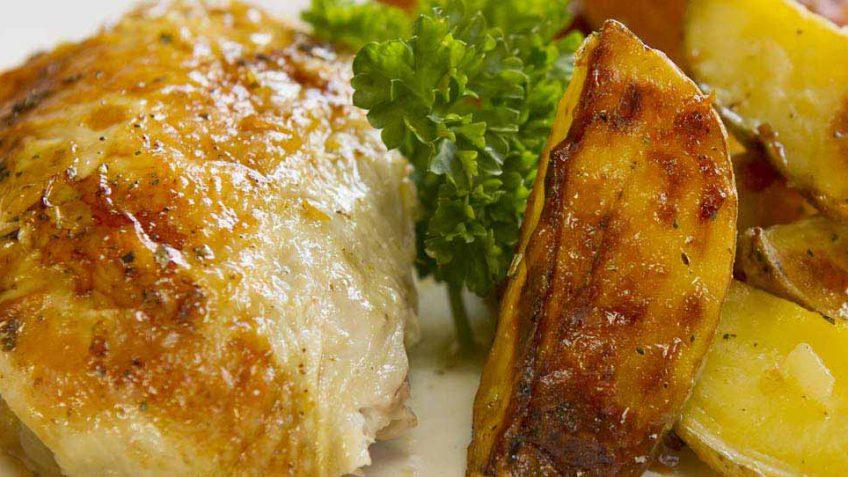five minute roast chicken recipe