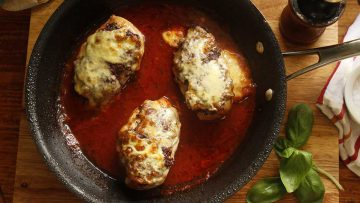 best chicken breast recipe with cheese and tomato