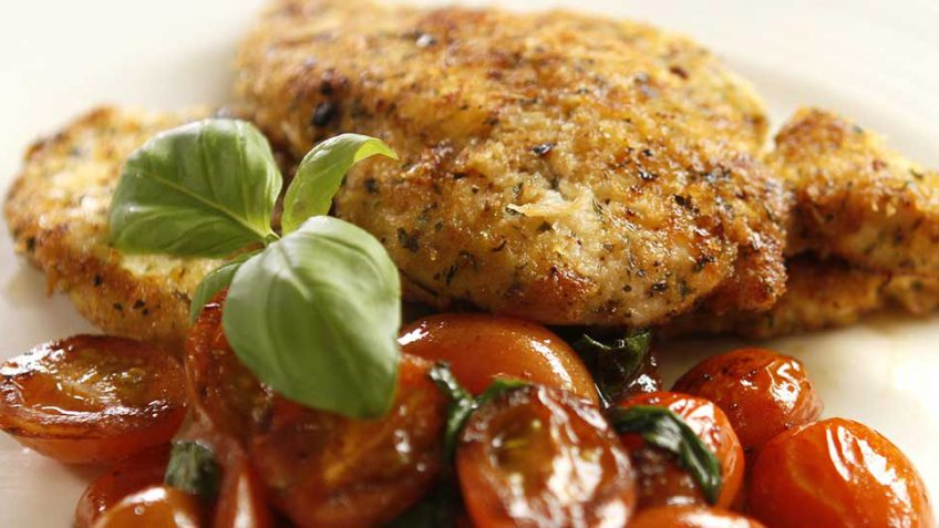 Italian Chicken Schnitzel Easy Meals With Video Recipes By Chef Joel Mielle Recipe30