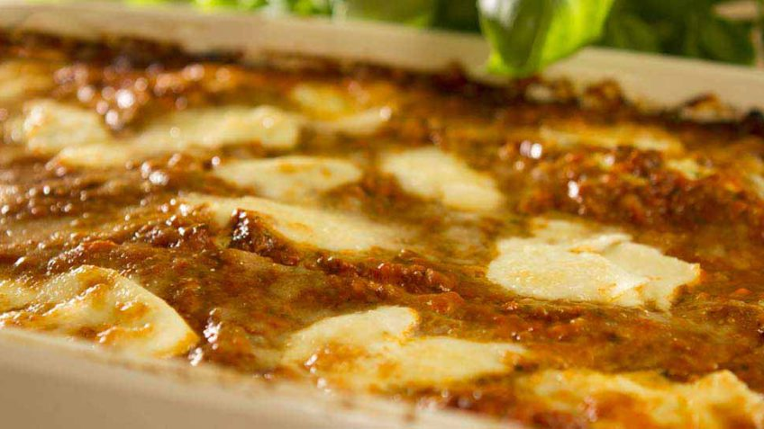 The best three cheese lasagna you will ever eat