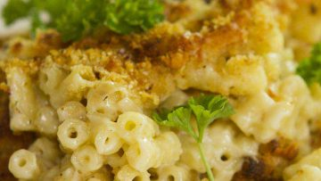 mac and cheese best recipe with mushrooms