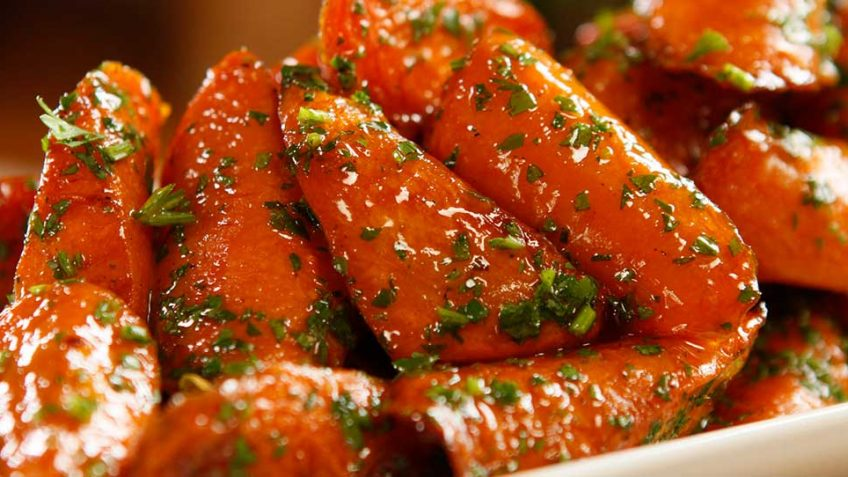 Roasted Glazed Carrots Easy Meals With Video Recipes By