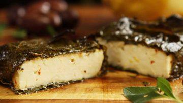 Feta cheese recipe served warm